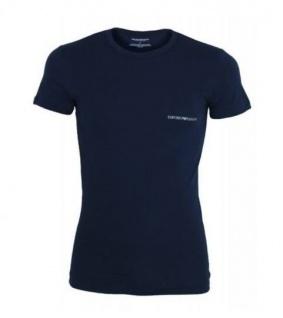 Emporio Armani, Basic Stretch T-Shirt marine 6A717