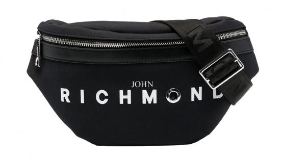John Richmond Bauchtasche / Gürteltasche Tulsar, Schwarz