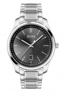 Hugo Boss Herren Uhr Circuit Edelstahl Silber, 1513730