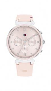 Tommy Hilfiger Damen Uhr Ivy Sport Silikon Pink, 1782343