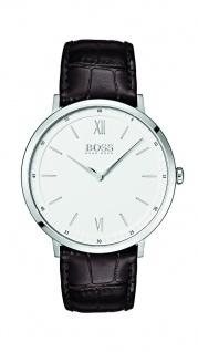 Hugo Boss Herren Uhr Essential Leder braun, 1513646
