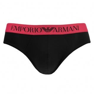 Emporio Armani Slip Schwarz, 110814 Größe XL