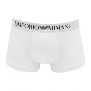 Emporio Armani Stretch CottonTrunk, Weiß 110389 Größe S