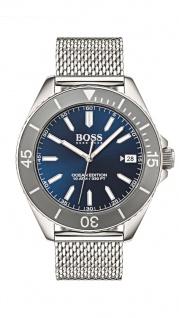 Hugo Boss Herren Uhr Ocean Edition Edelstahl, 1513571