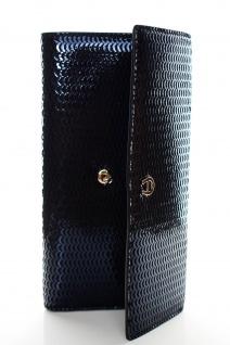 Aigner Fashion Geldbörse, Metallic Look, 156133 Deep Blue - Vorschau 4