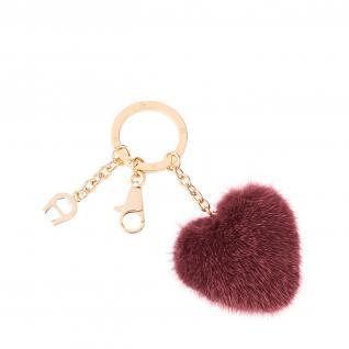 Aigner Taschenanhänger / Schlüsselanhänger Herz, rot