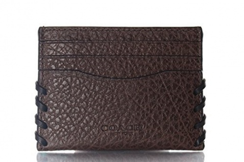 Coach Kreditkartenetui/ Flat Card Holder, Braun 59291