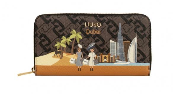 LIU.JO Portemonnaie mit Stadt-Print, Dubai - Vorschau 1