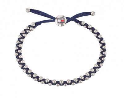 Tommy Hilfiger Damen Armband blau mit Perlen, 2780008