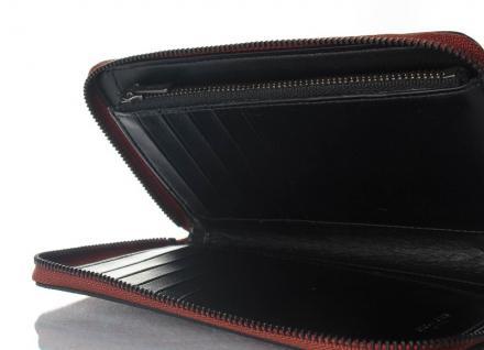 Coach Portemonnaie mit Zip, Metallic Rust 59968 - Vorschau 2