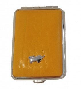 Braun Büffel Pillendose Golf, Curry 39085