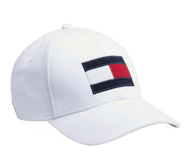 Tommy Hilfiger Big Flag Baseball Cap, Weiß