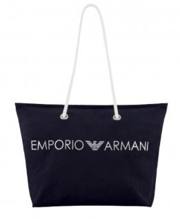 Emporio Armani Badetasche / Strandtasche, Dunkelblau 262653