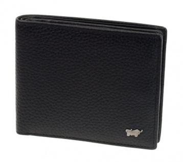 Braun Büffel Geldbörse Turin schwarz, 60106S
