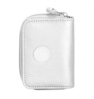 Kipling Mini Geldbörse / Etui Tops, White Metallic