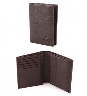 Aigner Portemonnaie 151010, Hochformat dunkelbraun