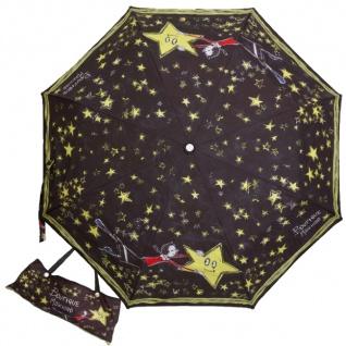 Boutique Moschino Taschenschirm, schwarz