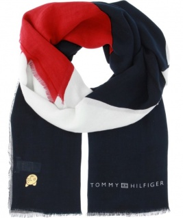 Tommy Hilfiger Schal Chevron Mascot Scarf, Multicolour