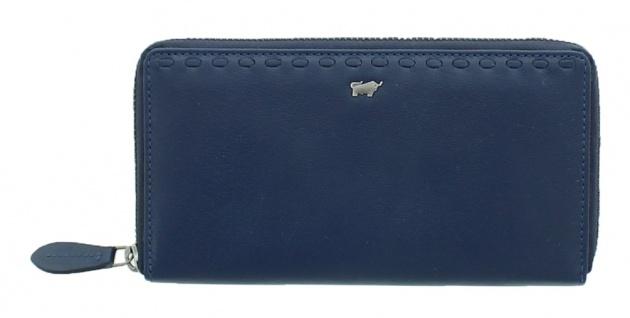 Braun Büffel Geldbörse Soave Navy / Blau, 28354
