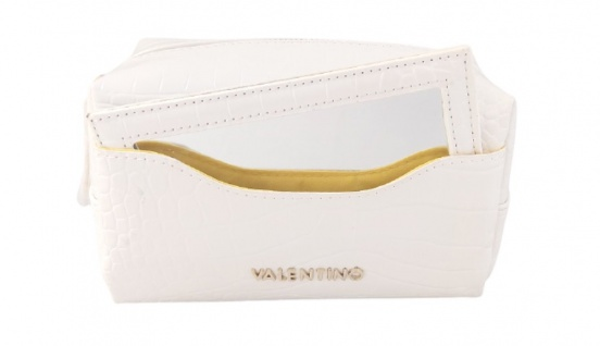 Valentino Bags Kosmetiktasche Anastasia, Bianco