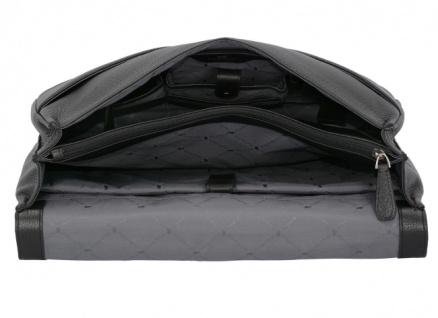 Braun Büffel Aktentasche Turin schwarz, 60125S - Vorschau 3
