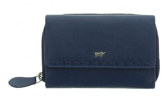 Braun Büffel Geldbörse Soave Navy / Blau, 28353