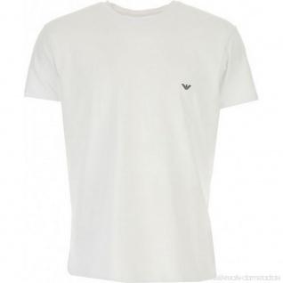 Emporio Armani Herren T-Shirt, Weiß 111341 Größe M