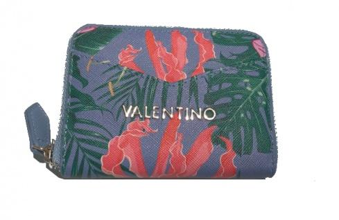Valentino Mini Portemonnaie Atlantic, Ceruleo/Multicolor