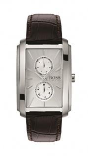 Hugo Boss Herren Uhr Ambition Leder braun, 1513592