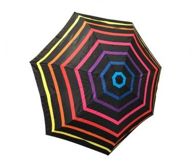 Happy Rain Taschenschirm gestreift multicolor, 46852C