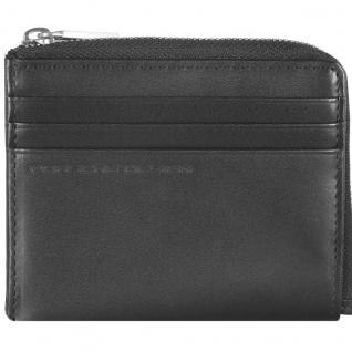 Porsche Design Classic Line 2.1 CardHolder / Coin Pocket H6, schwarz
