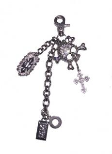 Taschenanhänger / Schlüsselanhänger silber, 004/ 1311