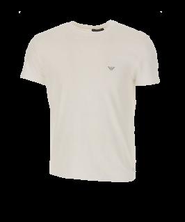 Emporio Armani T-Shirt Superfine Cotton, Weiß 110853 Größe M