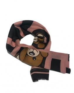 Boutique Moschino Schal mit Bären Print, Pink