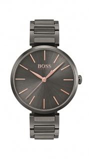 Hugo Boss Damen Uhr Allusion Edelstahl grau, 1502416