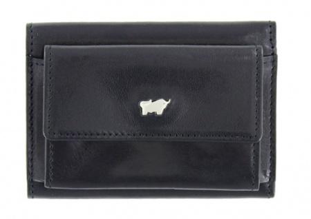 Braun Büffel Mini Geldbörse Gaucho, schwarz 31007