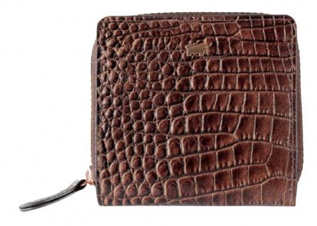 Braun Büffel Geldbörse Amalfi Kroko Choco, 45250