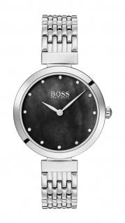 Hugo Boss Damen Uhr Celebration - Business Edelstahl Silber, 1502478