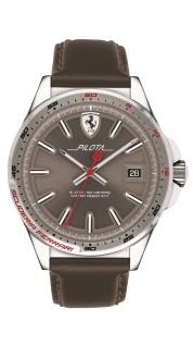 Scuderia Ferrari Pilota Uhr braun, 0830488
