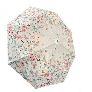 Esprit Mini Regenschirm Taschenschirm Flowers & Birds - Vorschau 1