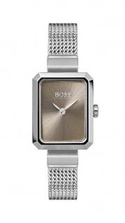 Hugo Boss Damen Uhr Whisper Edelstahl silber, 1502431