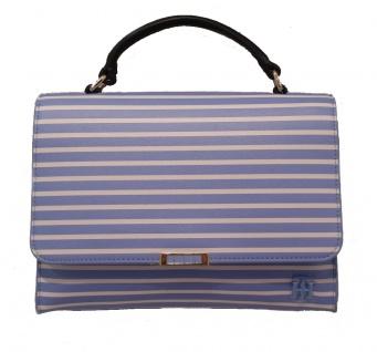 Tommy Hilfiger Handtasche / Umhängetasche, Blau/ Weiß