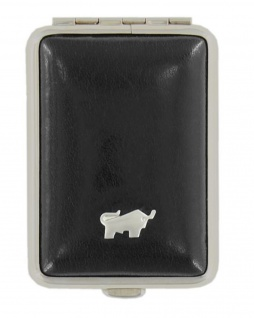 Braun Büffel Pillendose Gaucho, schwarz 39085