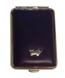 Braun Büffel Pillendose Golf, Violet 39085