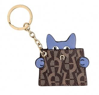 Aigner Schlüsselanhänger Katze, Bellflower Blue 181121