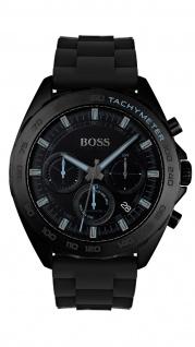 Hugo Boss Herren Uhr Intensity Silikon Schwarz, 1513666