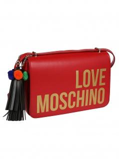 Love Moschino Borsa Grain Pu Rosso, Red - Vorschau 2