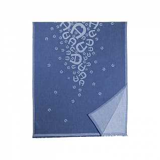 Aigner Tuch Logo M, Blau 242585