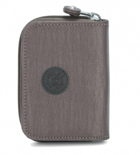 Kipling Mini Geldbörse / Etui Tops, Carbon Metallic