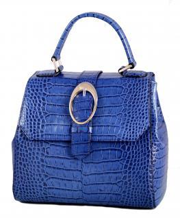Armani Collezioni Leder Handtasche 926005, Royal Blue - Vorschau